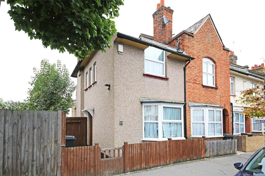 2 Bedrooms End Of Terrace House for sale in Northborough Road, Norbury, SW16