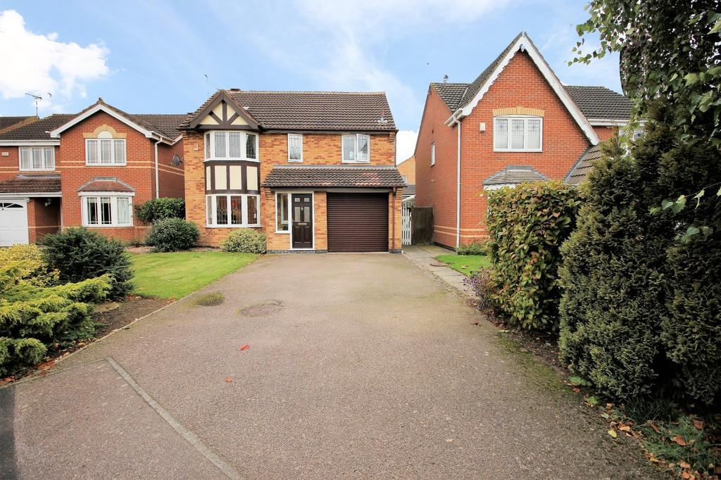 4 Bedrooms Detached House for sale in Kingfisher Road, Mountsorrel