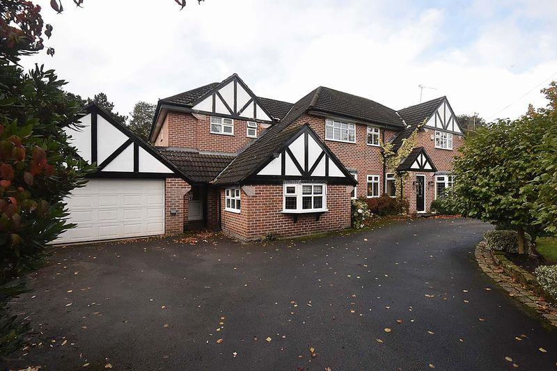 5 Bedrooms Detached House for sale in Mobberley Road, Knutsford