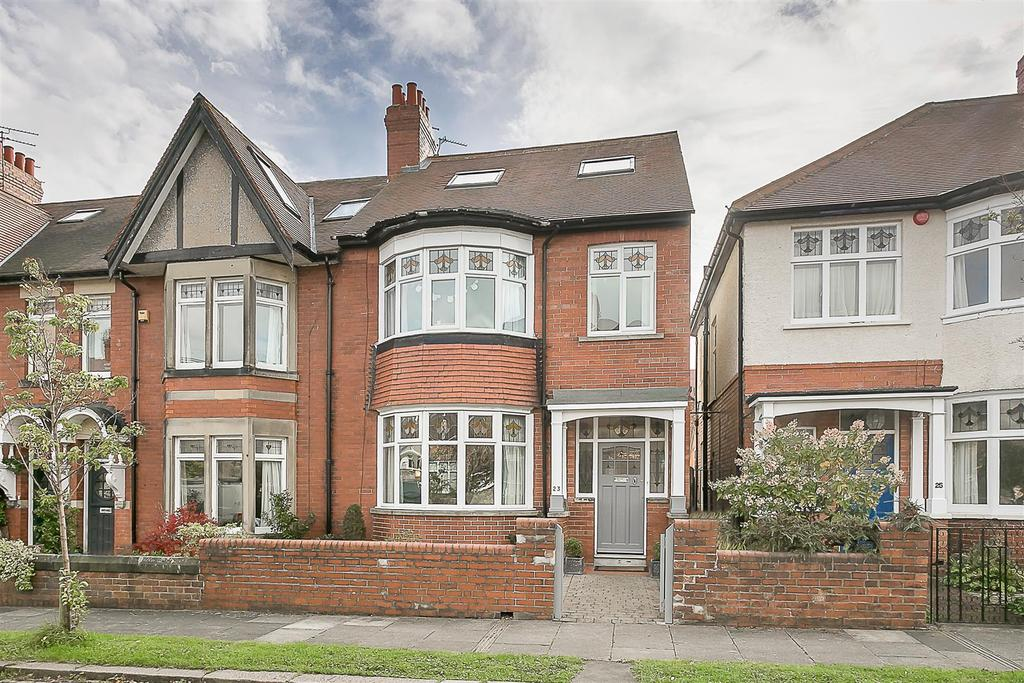 5 Bedrooms End Of Terrace House for sale in Woodlands, Gosforth, Newcastle upon Tyne