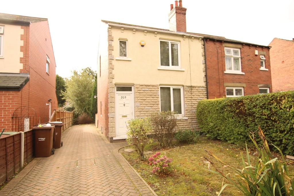 2 Bedrooms Semi Detached House for sale in Thornes Road, Thornes