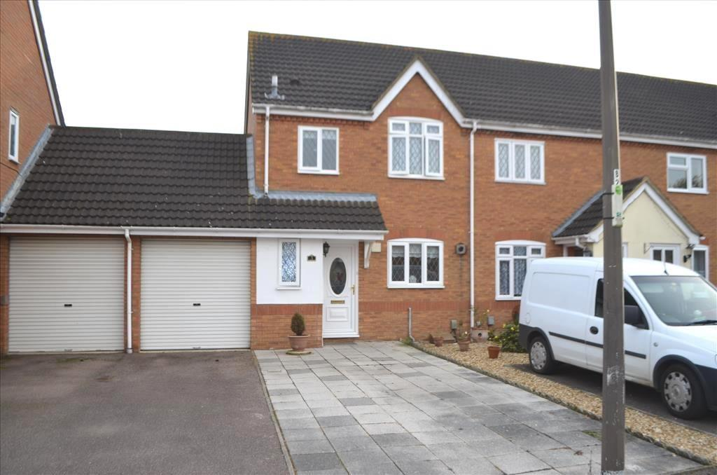 3 Bedrooms End Of Terrace House for sale in Kayser Court, Biggleswade, SG18