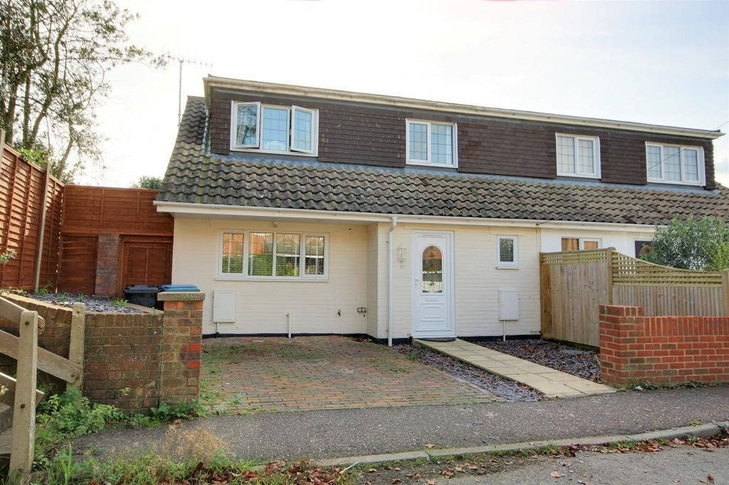 3 Bedrooms Semi Detached House for sale in Brookside Avenue, Rustington, BN16 3LF