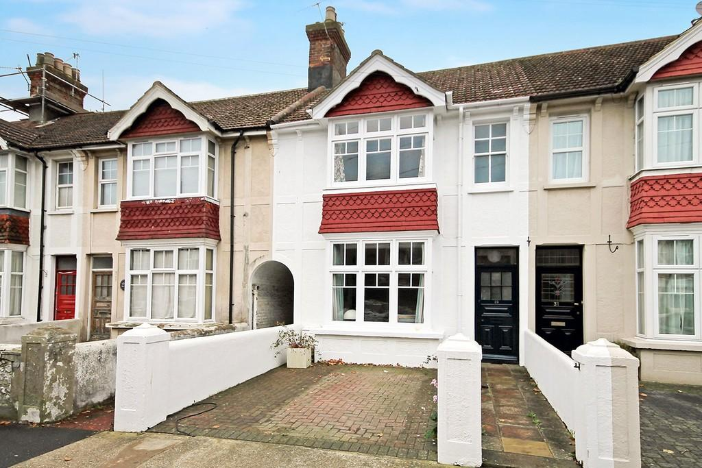 3 Bedrooms Terraced House for sale in Canterbury Road, Worthing BN13 1AQ