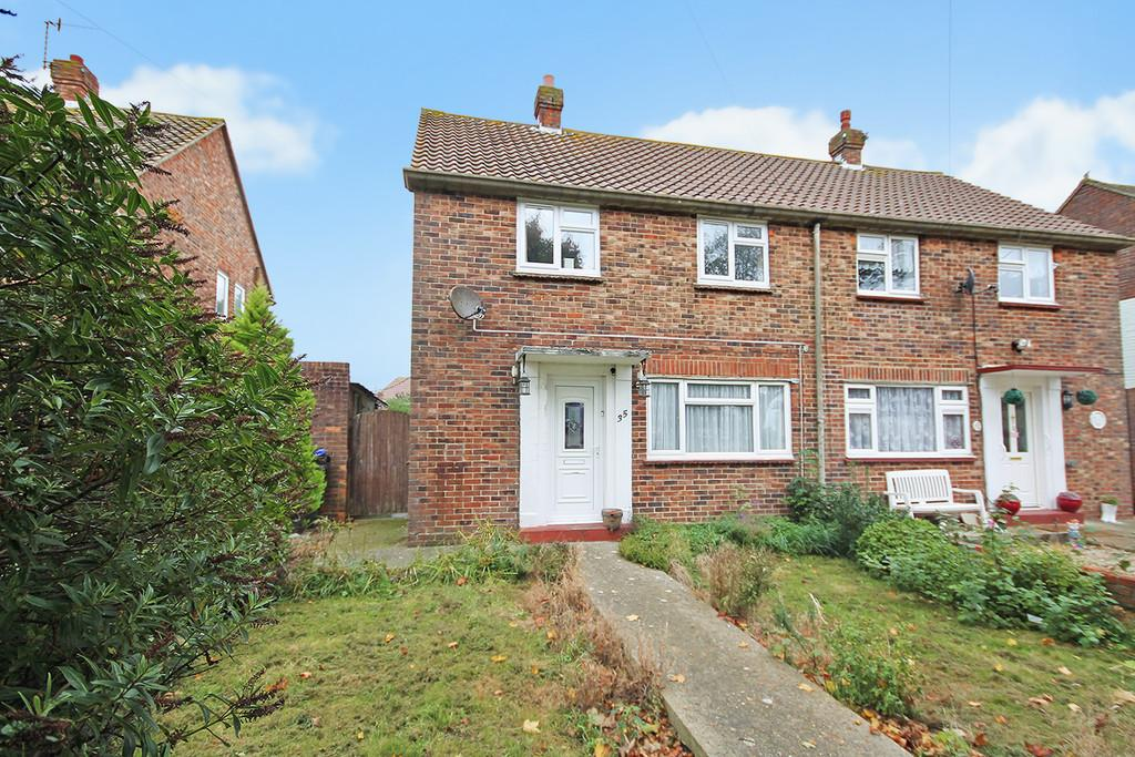 3 Bedrooms Semi Detached House for sale in Wilmot Road, Shoreham-by-Sea, BN43 6BN