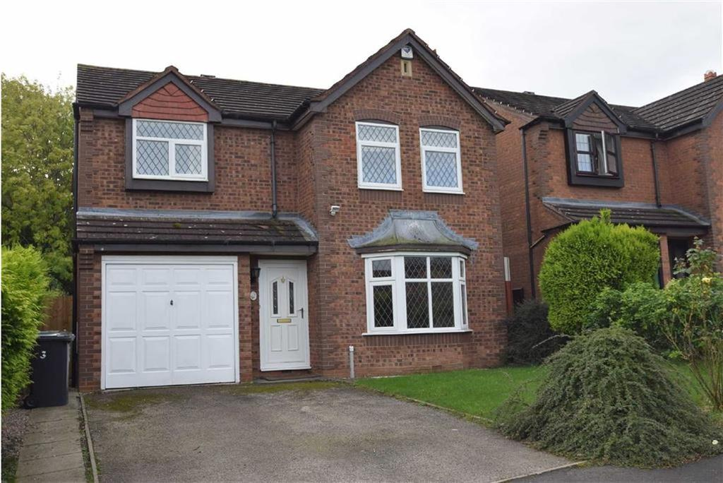 4 Bedrooms Detached House for sale in Tawnylea, Herongate, Shrewsbury