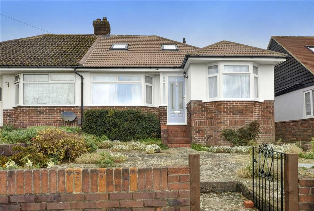 2 Bedrooms Semi Detached Bungalow for sale in Maplehurst Road, Portslade