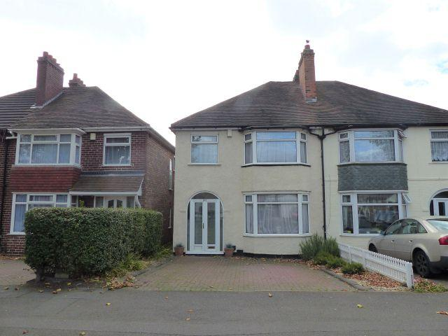 3 Bedrooms Semi Detached House for sale in Holly Lane,Erdington,Birmingham