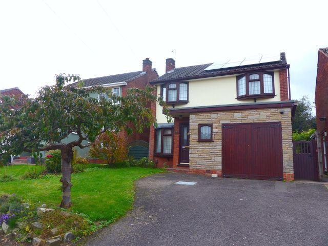 4 Bedrooms Detached House for sale in Garrick Rise,Burntwood,Staffordshire