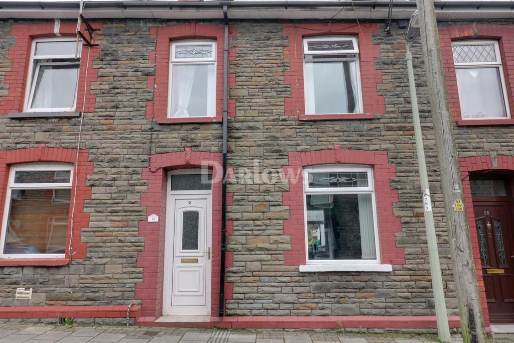 2 Bedrooms Terraced House for sale in Coronation Street, Trethomas