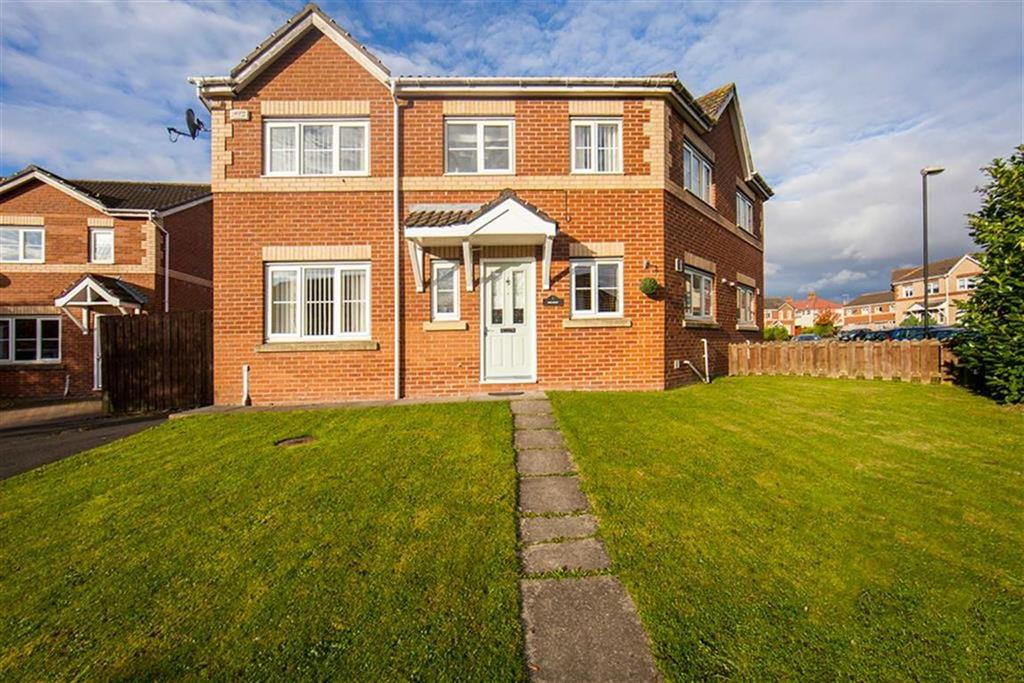 3 Bedrooms Semi Detached House for sale in Angus Crescent, North Shields, Tyne And Wear, NE29