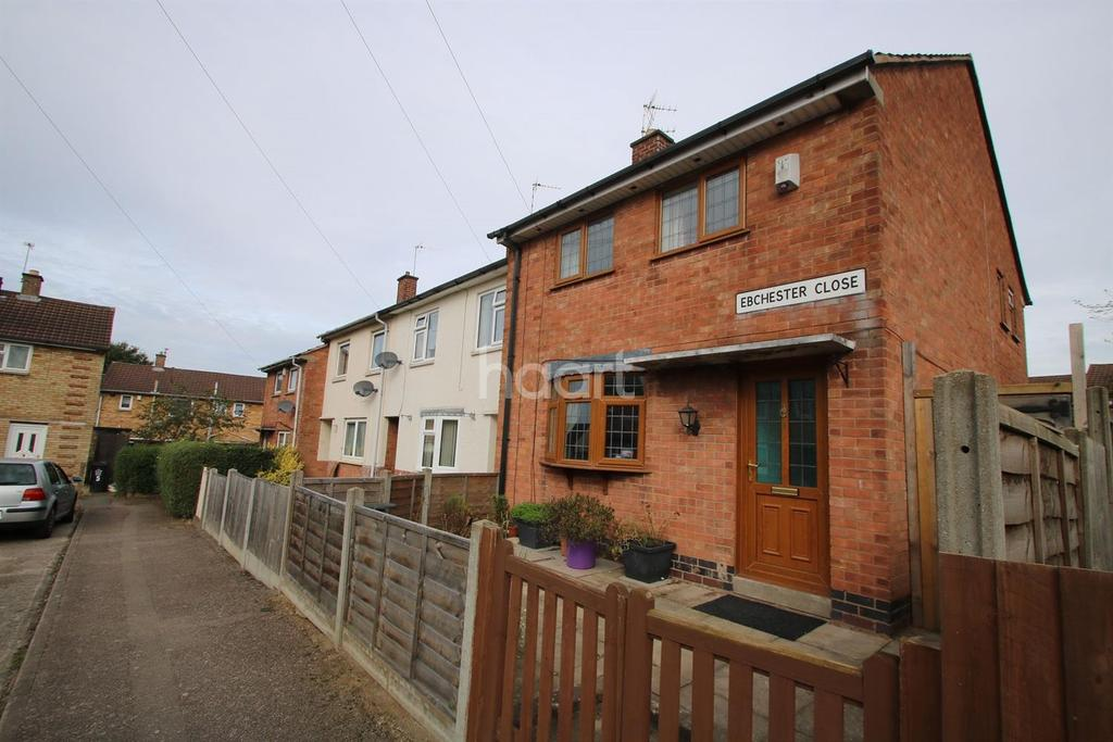 3 Bedrooms Semi Detached House for sale in Ebchester Close, Leicester