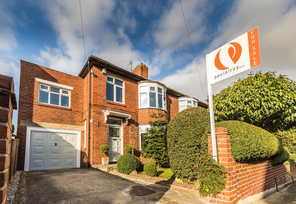 4 Bedrooms Semi Detached House for sale in West Mount, High Barnes