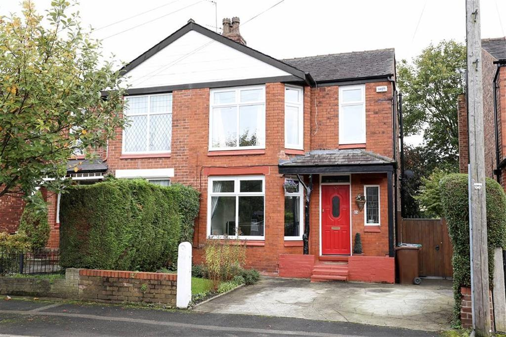3 Bedrooms Semi Detached House for sale in Ashwood Avenue, West Didsbury, Manchester