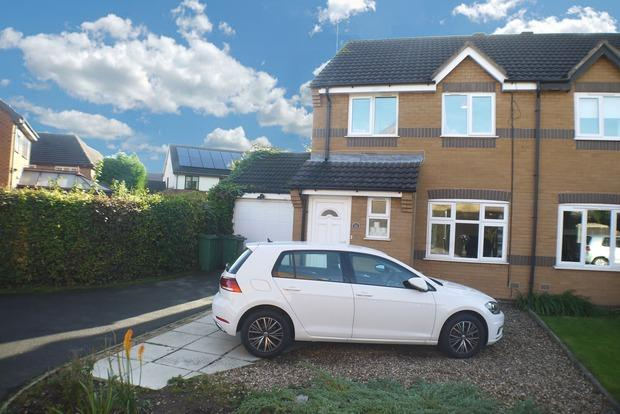 3 Bedrooms Semi Detached House for sale in Monal Close, Whetstone, Leicester, LE8