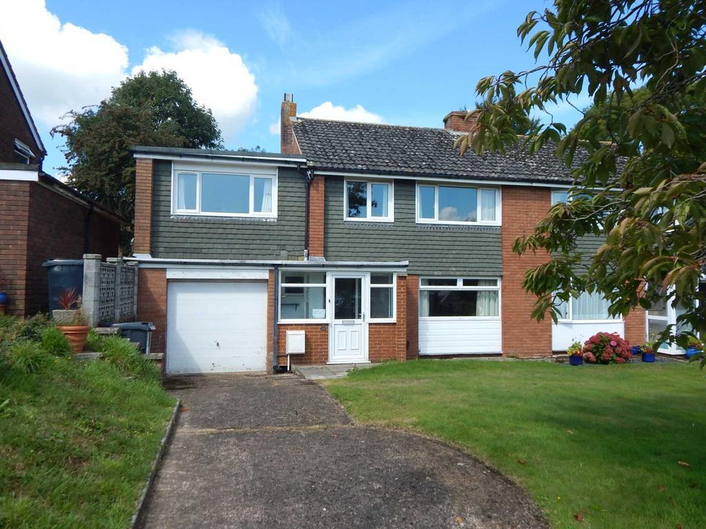 4 Bedrooms Semi Detached House for sale in Grove Hill, Colyton, Devon
