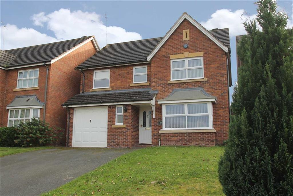 4 Bedrooms Detached House for sale in Godiva Road, LEOMINSTER, Leominster