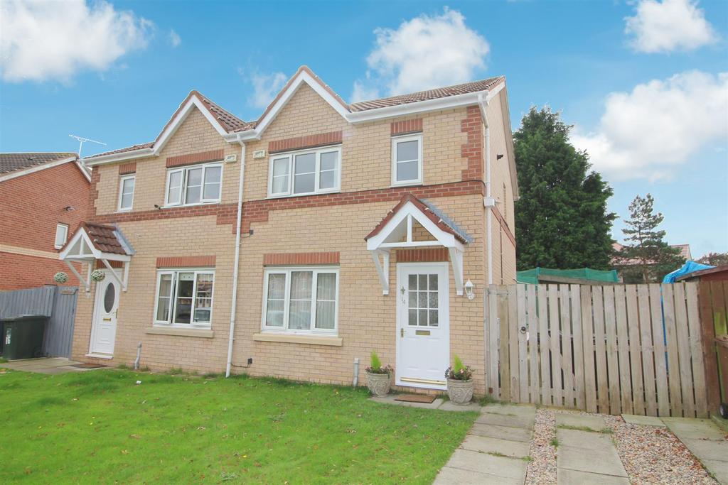 3 Bedrooms Semi Detached House for sale in Brahman Avenue, North Shields