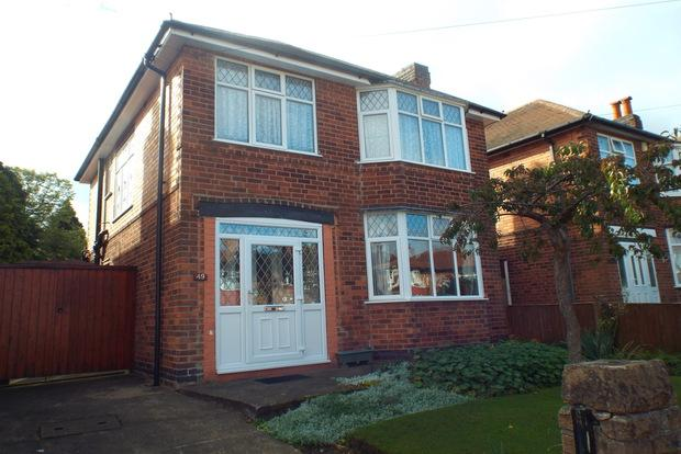 3 Bedrooms Detached House for sale in Ranelagh Grove, Nottingham, NG8