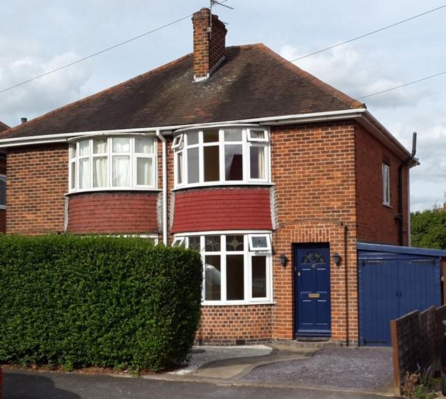 2 Bedrooms Semi Detached House for sale in Tuckers Road Loughborough