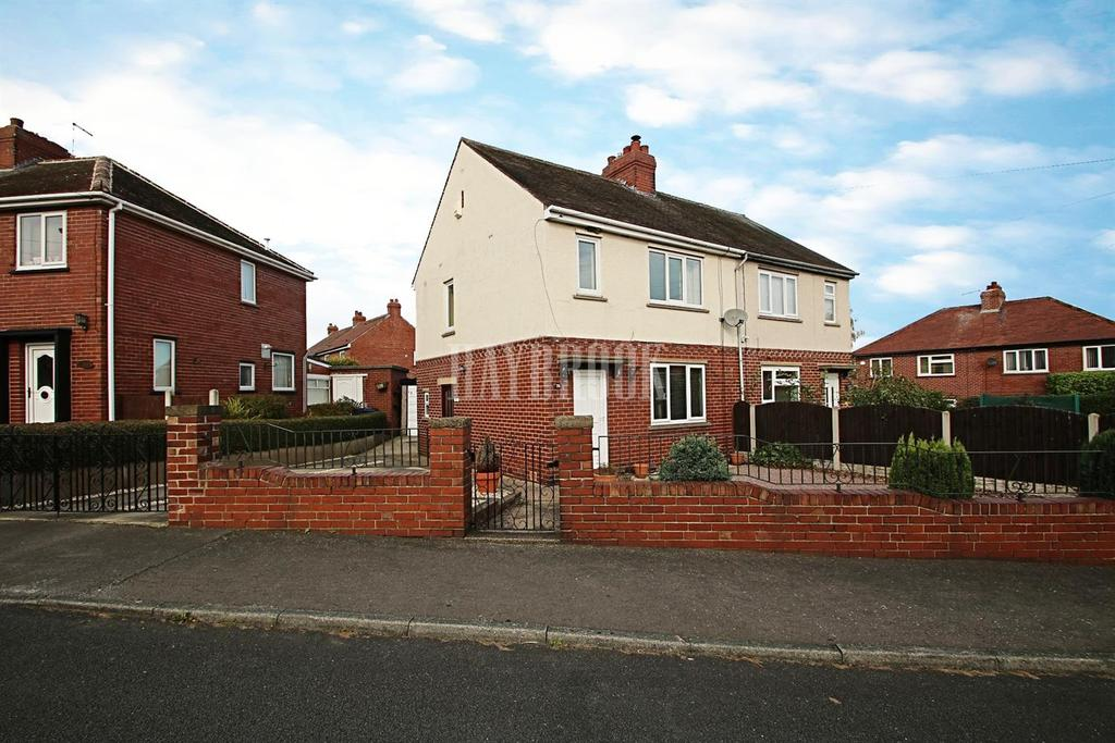 2 Bedrooms Semi Detached House for sale in Intake Crescent, Barnsley