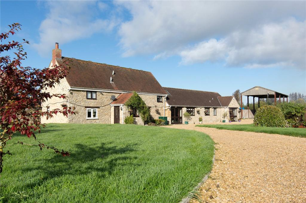 4 Bedrooms Detached House for sale in Throop Road, Templecombe, Somerset, BA8