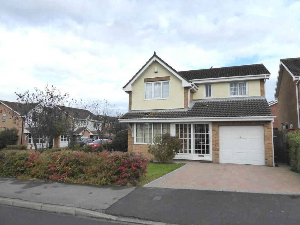 4 Bedrooms Detached House for sale in Allchurch Drive, Ashington