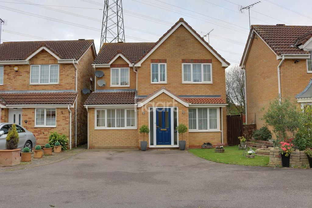 5 Bedrooms Detached House for sale in St Davids Close, Weston Heights, Stevenage