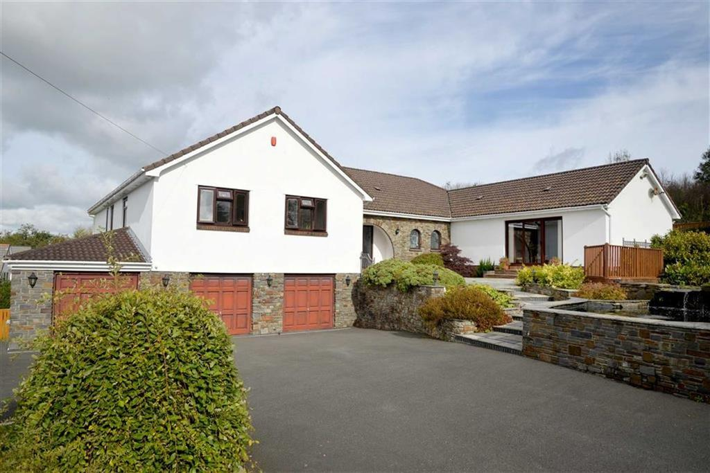 5 Bedrooms Detached House for sale in Porthyrhyd, Carmarthen