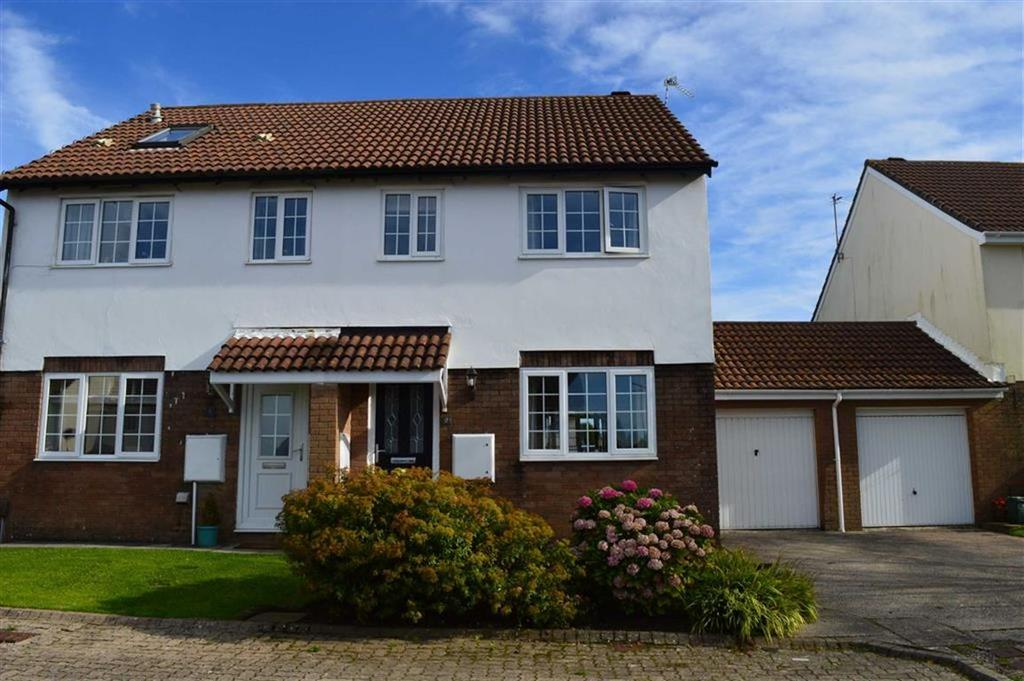 3 Bedrooms Semi Detached House for sale in Appledore Place, Newton, Newton Swansea