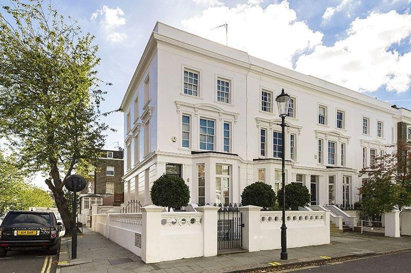 5 Bedrooms Terraced House for sale in Abingdon Villas, Kensington, London, W8