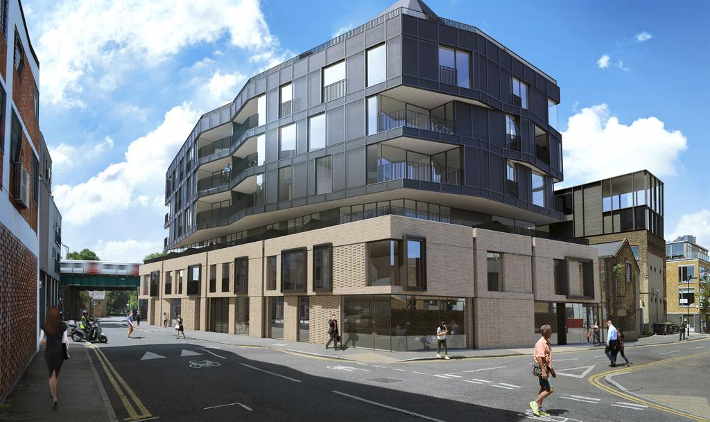 3 Bedrooms Apartment Flat for sale in The Fisheries, Mentmore Terrace, Hackney, London E8
