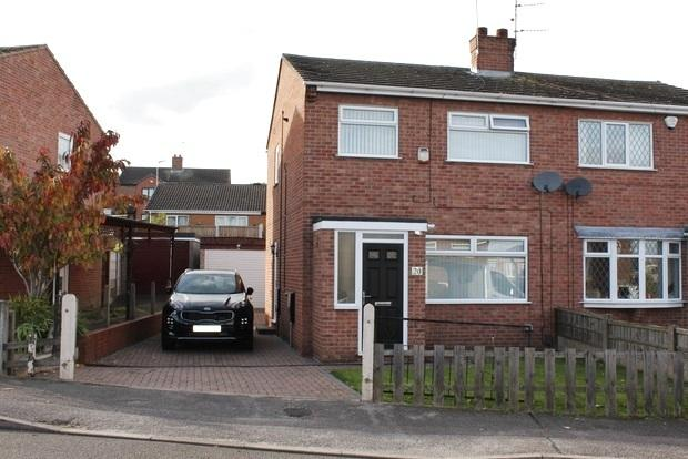 3 Bedrooms Semi Detached House for sale in Brockenhurst Road, Mansfield, NG19