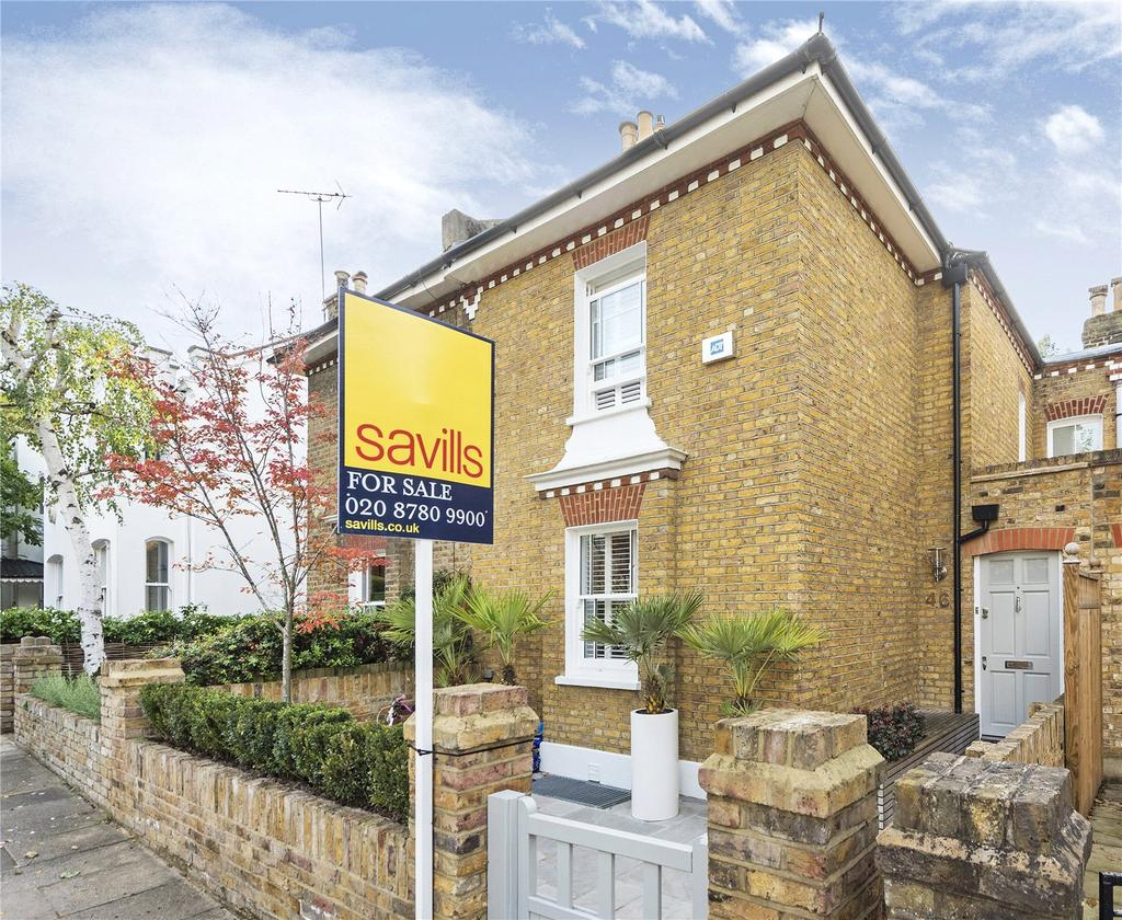 4 Bedrooms Terraced House for sale in Coalecroft Road, Putney, London, SW15