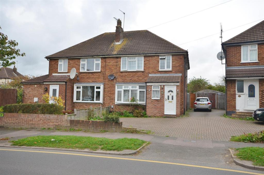 3 Bedrooms Semi Detached House for sale in Hill Rise, Sundon Park