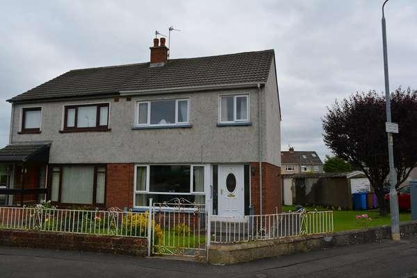 3 Bedrooms Semi-detached Villa House for sale in 1 Conistone Crescent, Baillieston, Glasgow, G69 7LG
