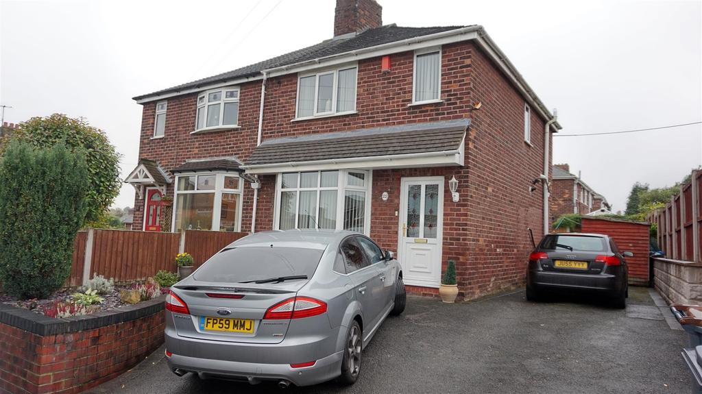 2 Bedrooms Semi Detached House for sale in Downing Avenue, May Bank, Newcastle