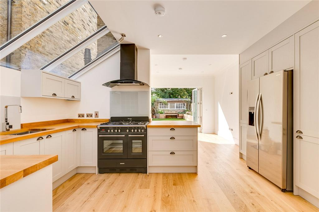 4 Bedrooms Terraced House for sale in Corney Road, Chiswick, London