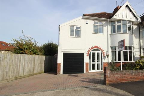 4 bedroom semi-detached house for sale - Cransley Crescent, Henleaze, Bristol, BS9