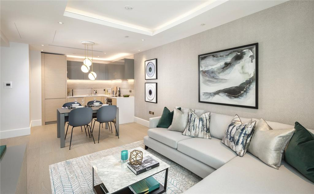 1 Bedroom Flat for sale in Benson House, 4 Radnor Terrace, London, W14