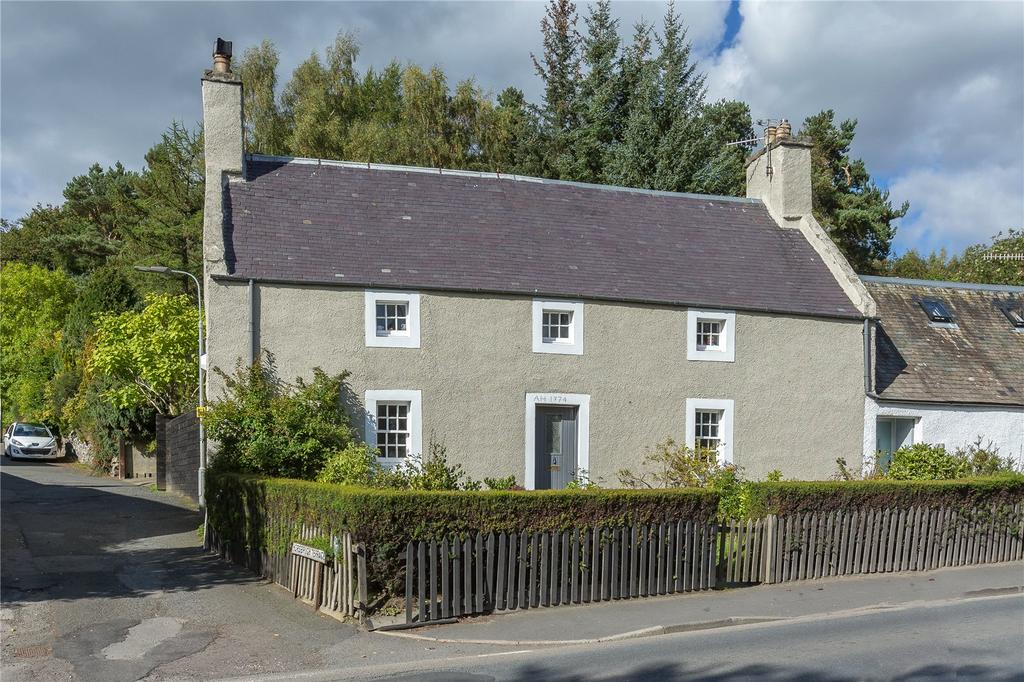 3 Bedrooms Semi Detached House for sale in Pirn Cottage, Pirn Road, Innerleithen, Scottish Borders
