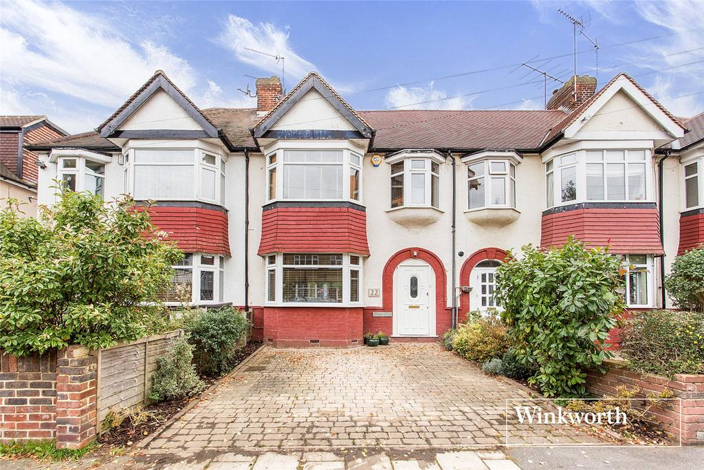 4 Bedrooms Terraced House for sale in Alan Drive, Barnet, Herts, EN5