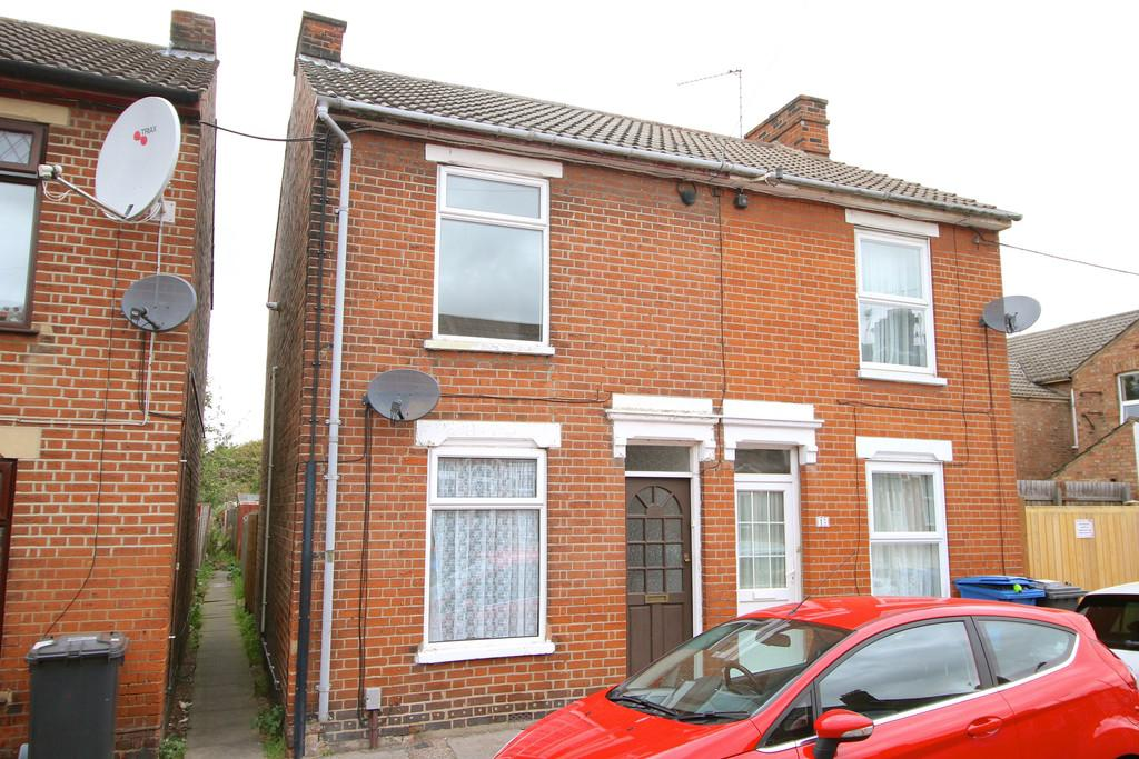 3 Bedrooms Semi Detached House for sale in Wellesley Road, Ipswich