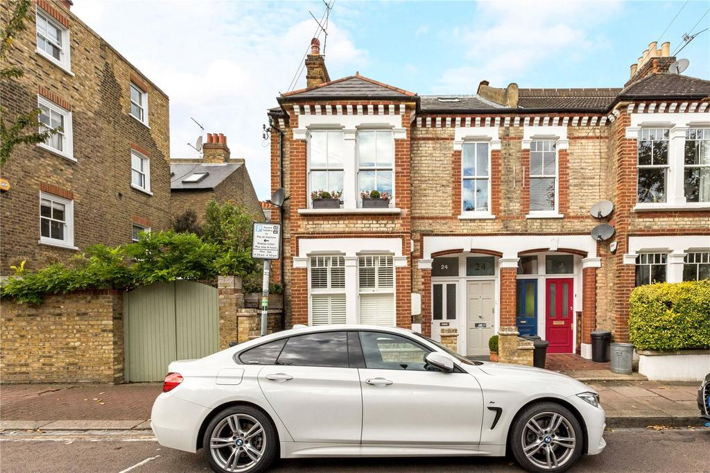 3 Bedrooms Maisonette Flat for sale in Salvin Road, Putney, London, SW15
