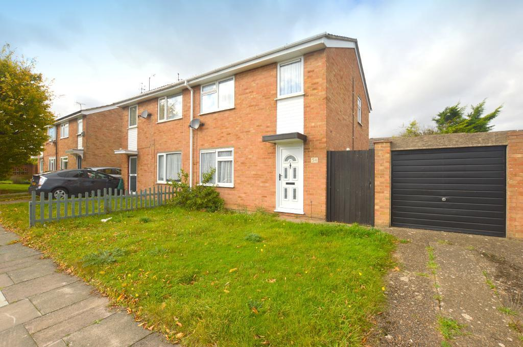 3 Bedrooms Semi Detached House for sale in Bembridge Gardens, Luton, Bedfordshire, LU3 3SJ