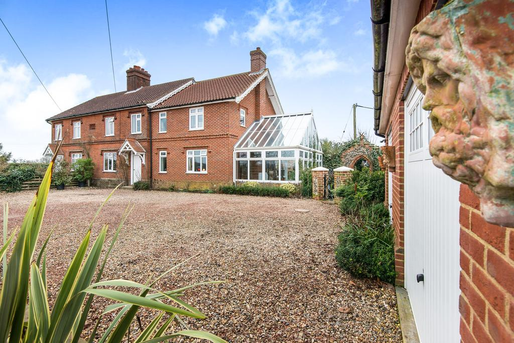 4 Bedrooms Cottage House for sale in Wymondham Road, Wramplingham