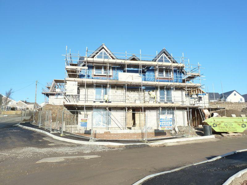 5 Bedrooms Detached House for sale in Plot 21 Abergarw Farm Brynmenyn Bridgend CF32 9LL