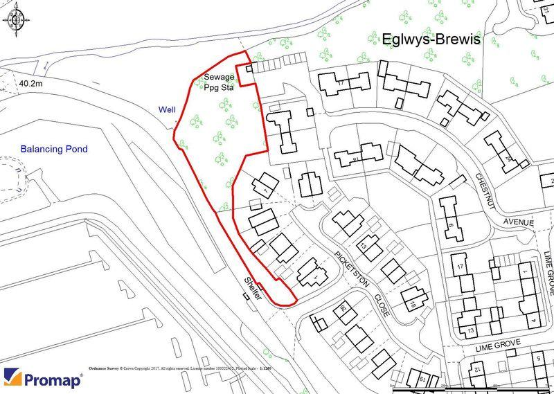 Land Commercial for sale in Approximately 0.59 Acres, Picketston Close, St Athan, CF62 4DN