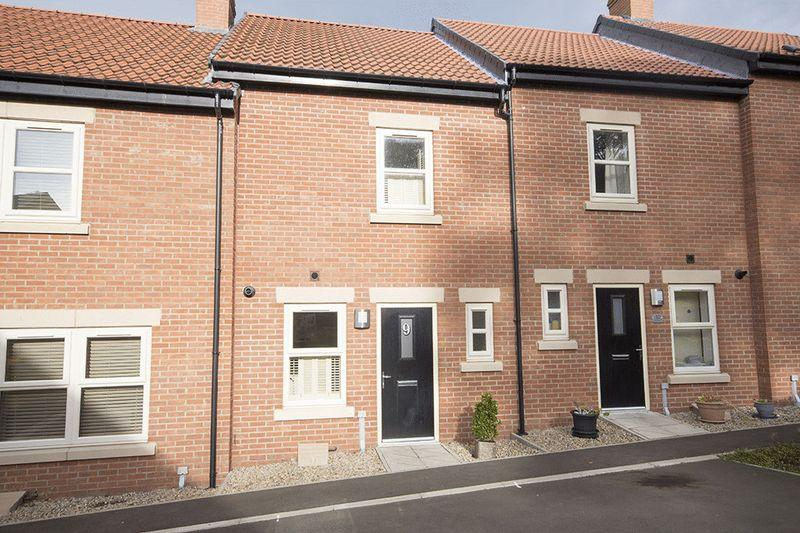 2 Bedrooms Terraced House for sale in Willoughby Park, Alnwick