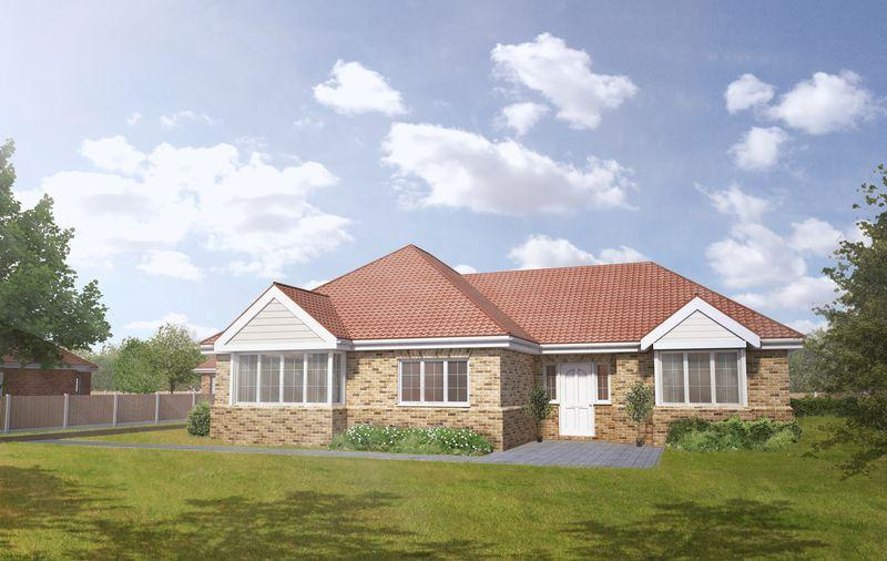 3 Bedrooms Detached Bungalow for sale in Plot 2, The Mulberry, Tower Drive, Woodhall Spa